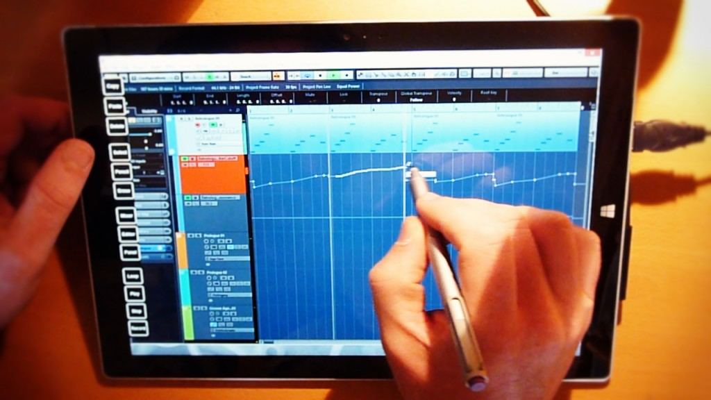 Running Cubase on the Surface Pro 3