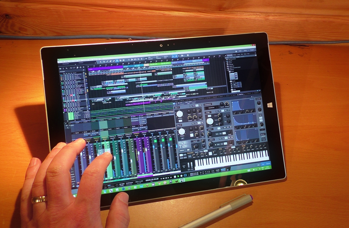 Running PreSonus Studio One 3 on the Surface Pro 3 - Surface Pro Audio